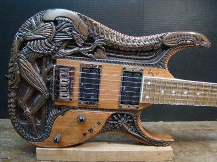Alien guitar