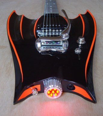 Batmobile guitar