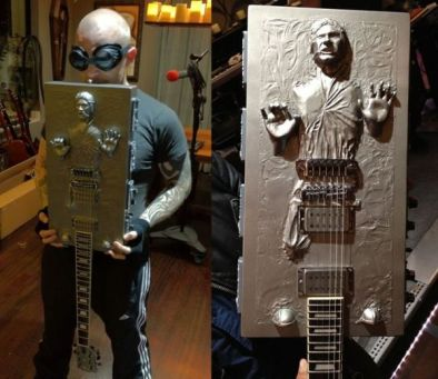 Han Solo carbonite guitar