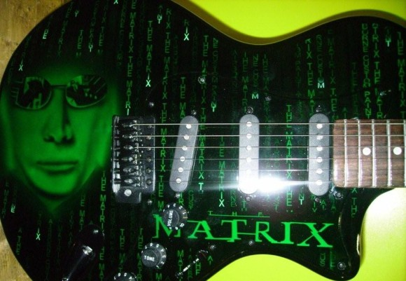 The Matrix guitar