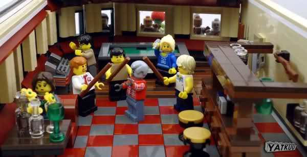 Horror Movie Scenes Recreated With Lego Terry Malloys Pigeon Coop - 15 awesome movie scenes recreated with lego