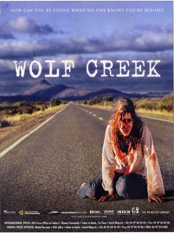 This girl has just watched Wolf Creek