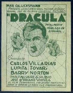 Dracula (1931) Spanish poster