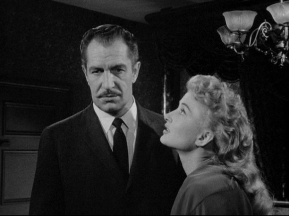 Vincent Price and Carol Ohmart