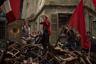 Les Mis - at the barricade