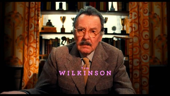 Tom Wilkinson in The Grand Budapest Hotel