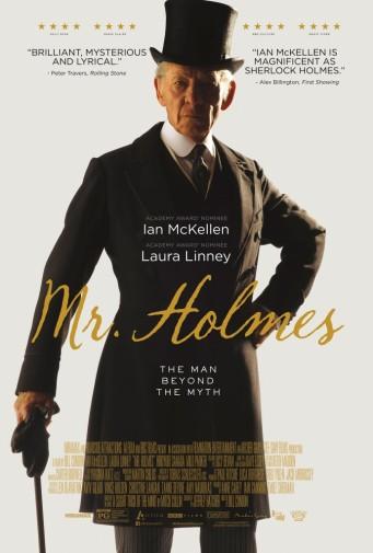 Mr Holmes poster